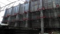 Строительство ограждающего контура НБК завершено