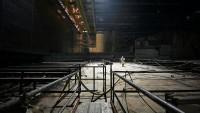 Демонтаж конструкций под аркой НБК