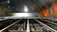 Завершен демонтаж легкой кровли машинного зала в пределах под-арочного пространства НБК