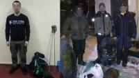 Задержаны сталкеры, на радиоактивном могильнике в Чернобыле