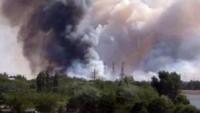 Пожар в 10-км зоне ЧАЭС