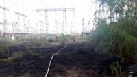 Возгорание рядом с ГСП ЧАЭС