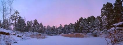 Потерявшемуся в зимнем лесу